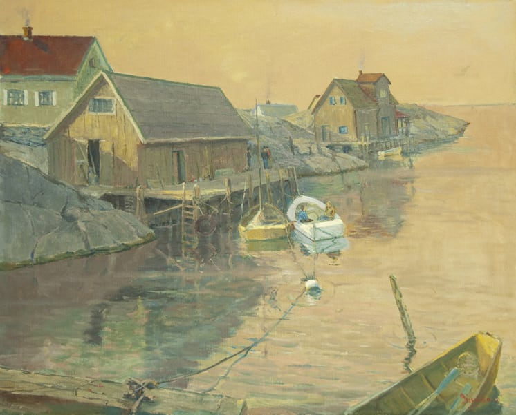 Fisherman's Cove, Newfoundland, Finn Nord - Fine Arts