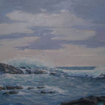Near Prospect Harbor, Maine, Finn Nord - Fine Arts