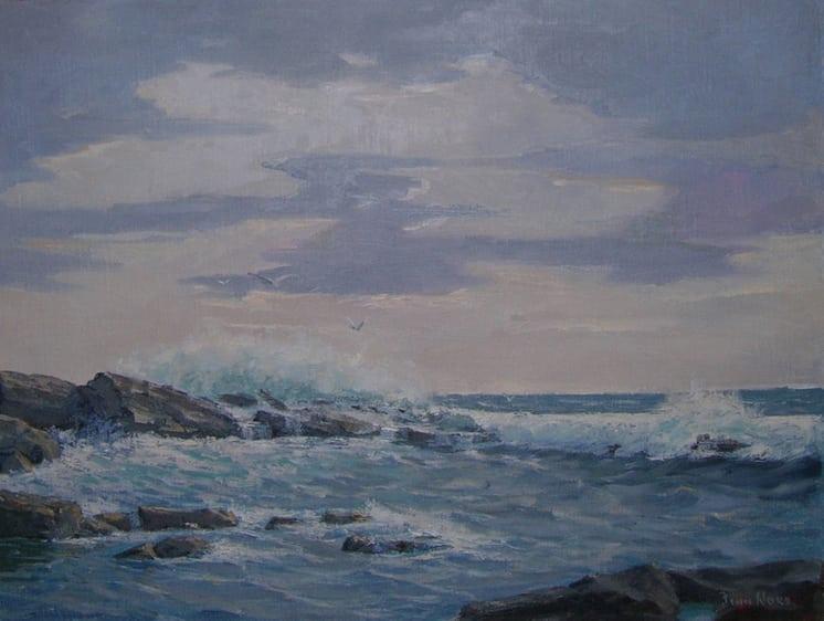 Near Prospect Harbor, Maine, Finn Nord - Fine Arts