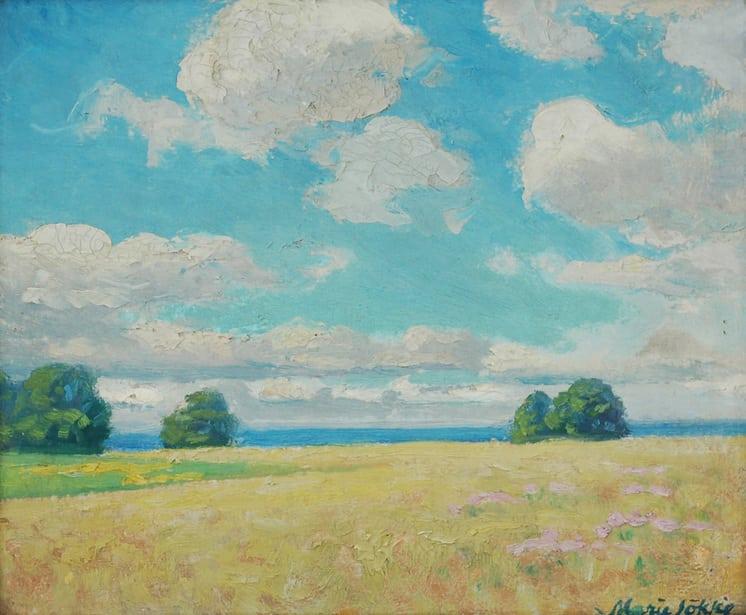 Landscape, Marie Løkke - Fine Arts
