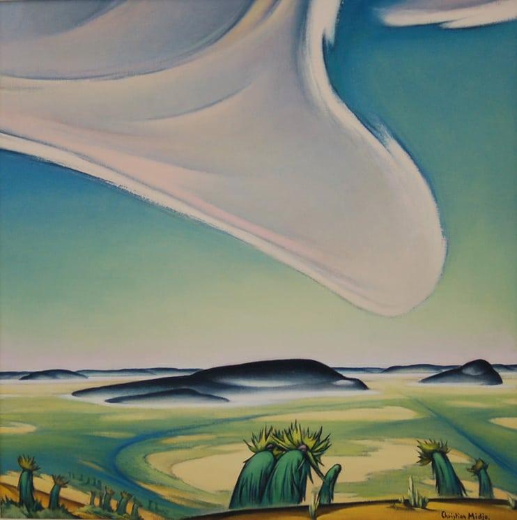 California Desert, Christian Midjo - Fine Arts