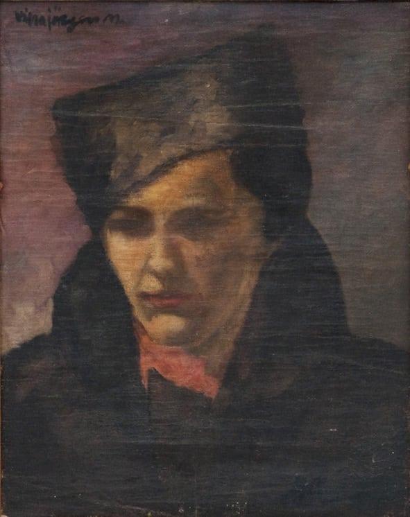 Self Portrait, Vilna Jørgen Morpugo - Fine Arts