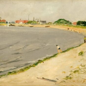Plumb Beach, Brooklyn, William Torjesen - Fine Arts