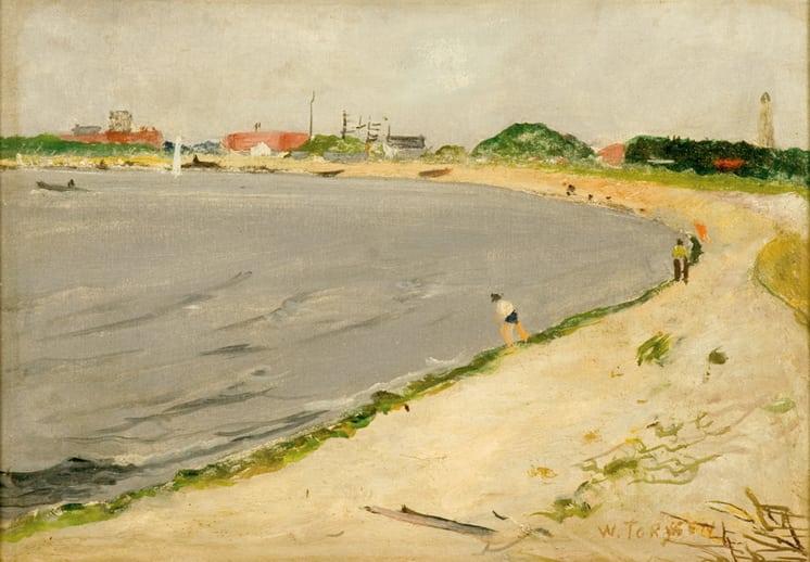 Plumb Beach, Brooklyn, William Torjesen - Fine Arts