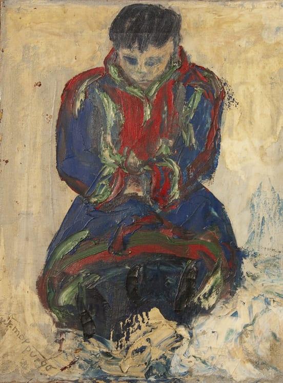 Little Sami, Vilna Jørgen Morpugo - Fine Arts