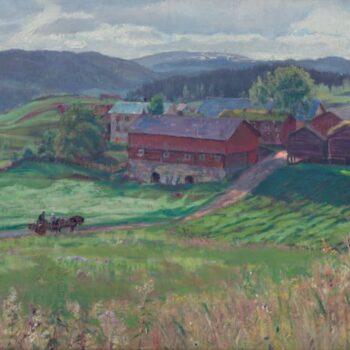 Norse Grenda, Karl Ouren - Fine Arts