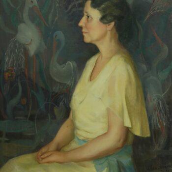 Josephine Alma Fyhrie Brack, J. Theodore Sohner - Fine Arts