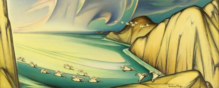 Sheltered Cove, Christian Midjo - Fine Arts
