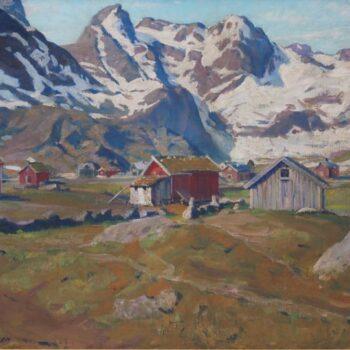 Trøndelag Farm, Karl Ouren - Fine Arts