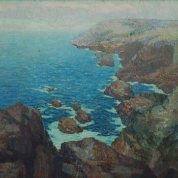 Coastal Scene, Sigurd Schou - Fine Arts