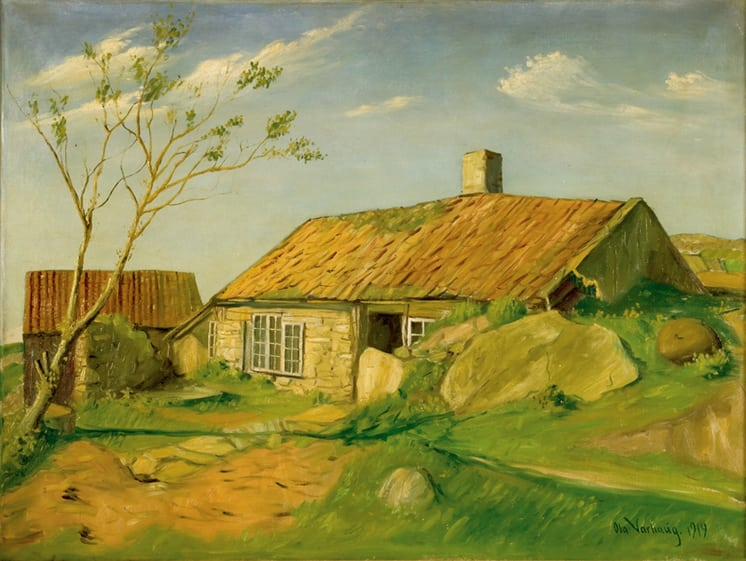 Farm in Norway, Ola Varhaug - Fine Art