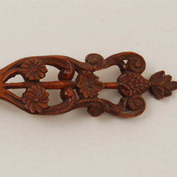 Floral Carved Wooden Spoon Feature Image - Decorative Woodcarving