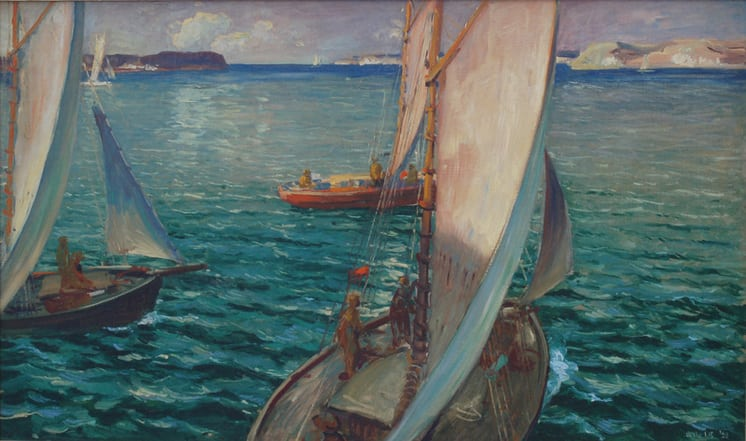 Eastward, Jonas Lie - Fine Arts