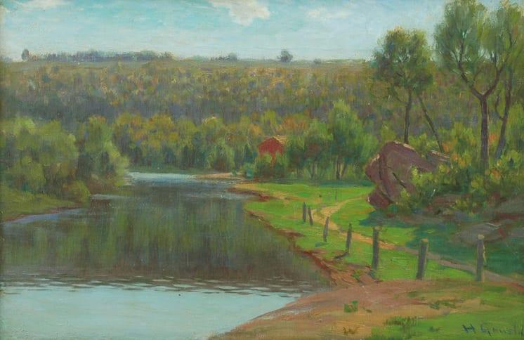 River Path, Herbjørn Gausta - Fine Arts