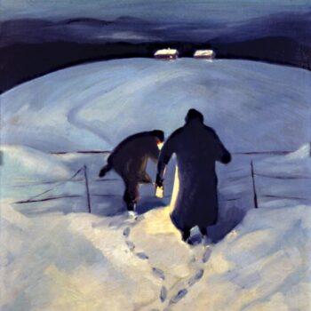 Mother and Dad, Bernhard Berntsen - Fine Arts