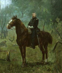 Colonel Heg at Chickamauga, Herbjørn Gausta - Fine Arts