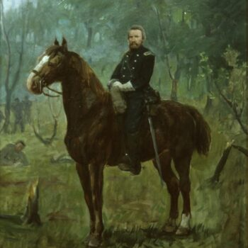 Colonel Heg at Chickamauga, Herbjørn Gausta - Fine Arts