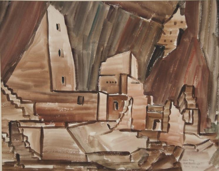 Mesa Verde, Anna Hong - Fine Arts
