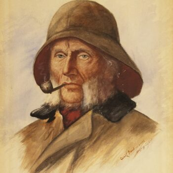Sea Captain, Carl Böeckmann - Fine Arts
