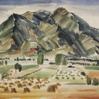 At Taos, New Mexico, Anna Hong - Fine Arts