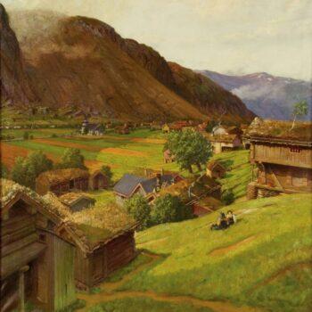 Sunday in Valle, Ben Blessum - Fine Arts