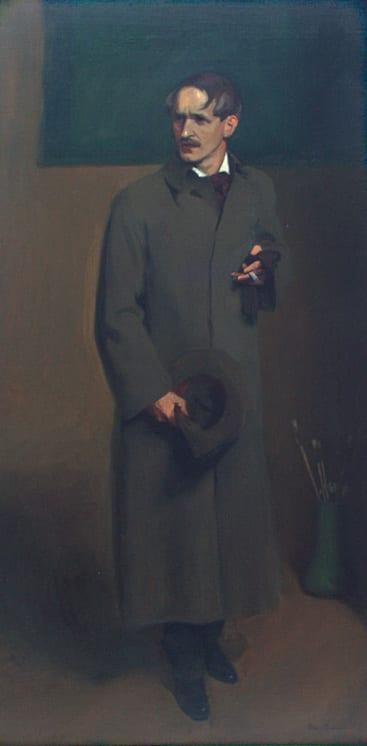 Portrait of Christian M. S. Midjo, Olaf Brauner - Fine Arts