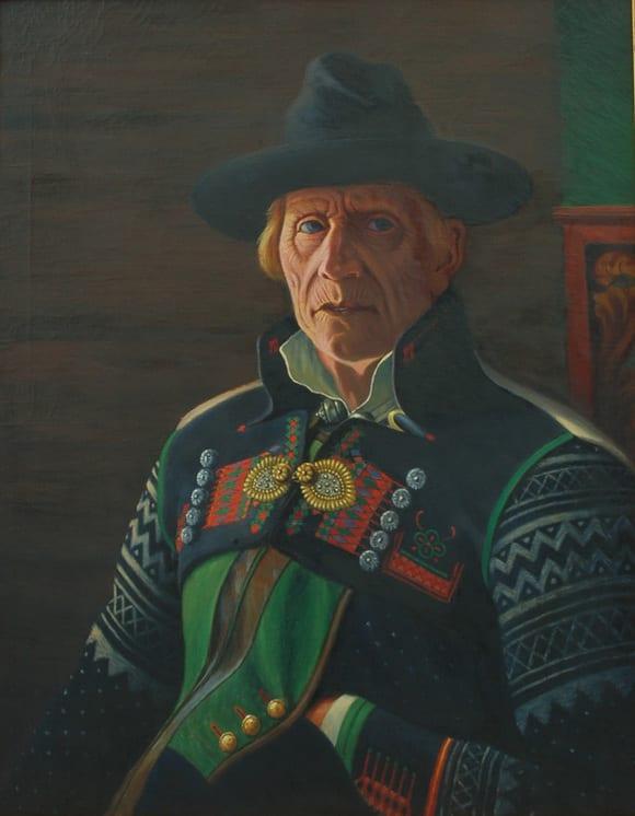 Peasant of Setesdalen, Ben Blessum - Fine Arts