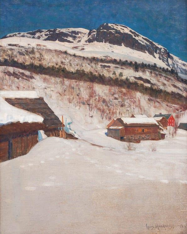 Paa Nesheim Horg, Lars Haukaness - Fine Arts