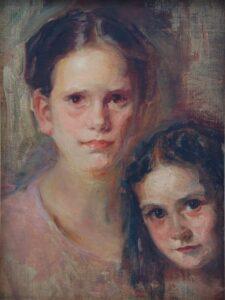 Sisters, Christian Abrahamsen - Fine Arts
