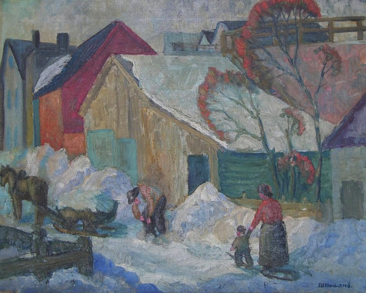 Alley Scene, Michael Hoiland - Fine Arts