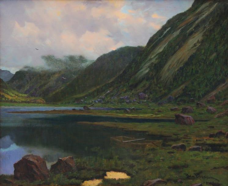 A Melancholy Evening, Ben Blessum - Fine Arts