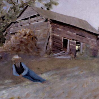 Sjur Reque Homestead, Lars Haukaness - Fine Arts