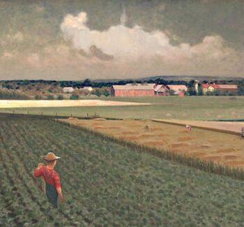 Torger Thompson Farm, Lars Haukaness - Fine Arts