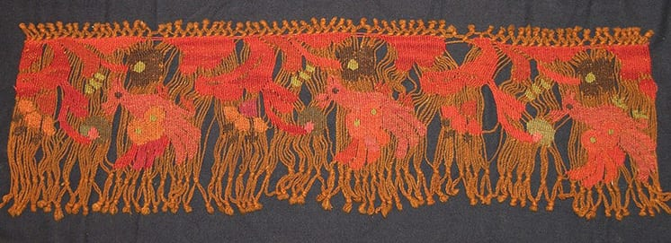 Tapestry with fantasy birds and flowers - Textiles