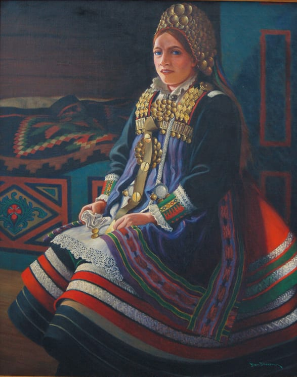 Bride of Setesdal, Ben Blessum - Fine Arts