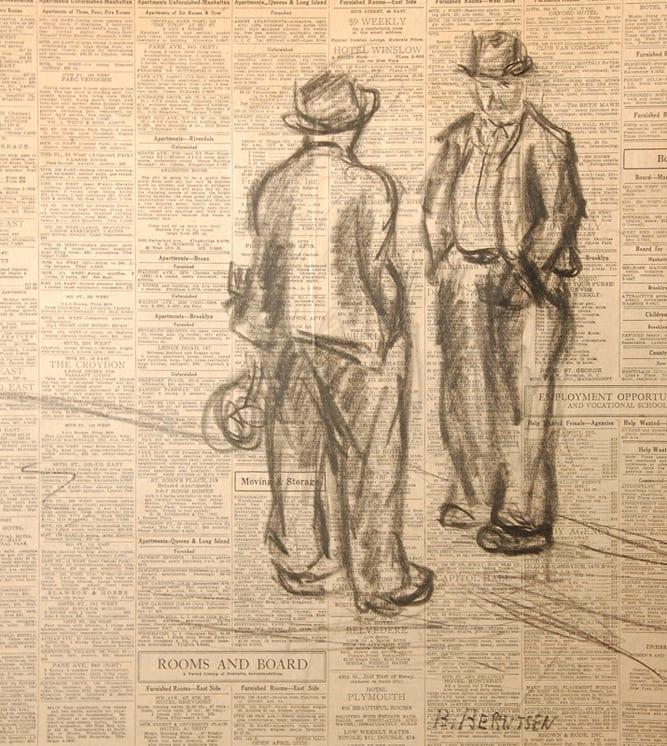 Conversation, Bernhard Berntsen - Fine Arts