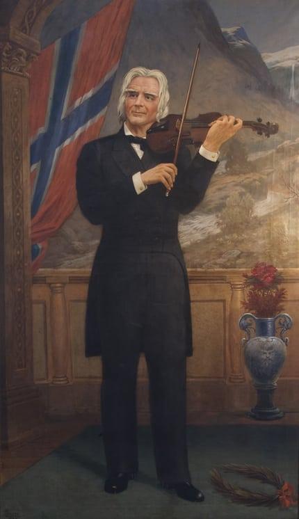 Ole Bull, John R. Larsen - Fine Arts