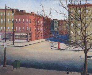 Sunday Morning in Brooklyn, Ralph Dahl - FIne Arts