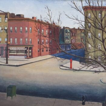 Sunday Morning in Brooklyn, Ralph Dahl - FIne Arts