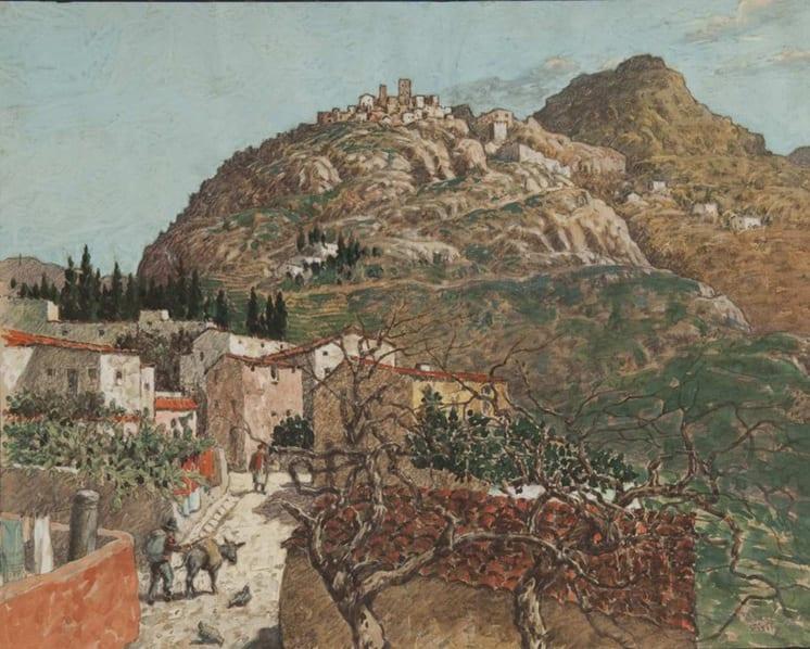 Sicily, Ben Blessum - Fine Arts
