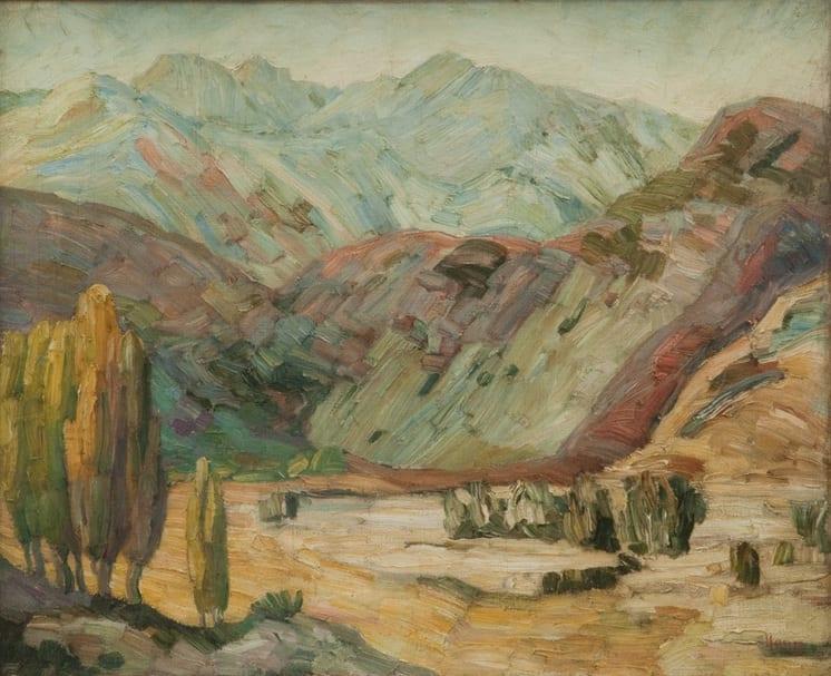 Western Landscape, Anna Hong - Fine Arts