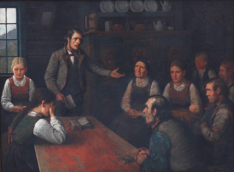 The Lay Preacher, Herbjørn Gausta - Fine Arts