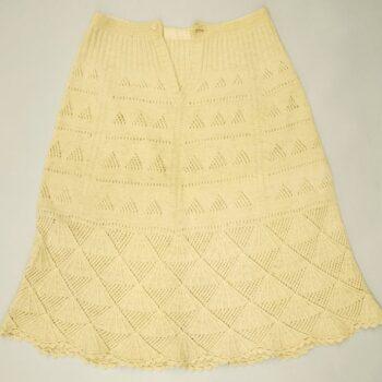 A-line shape petticoat with scalloped hem - Textiles