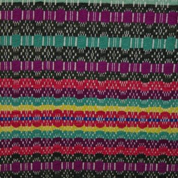 Coverlet woven in Telemarksvev, with two vertically joined sections - Textiles