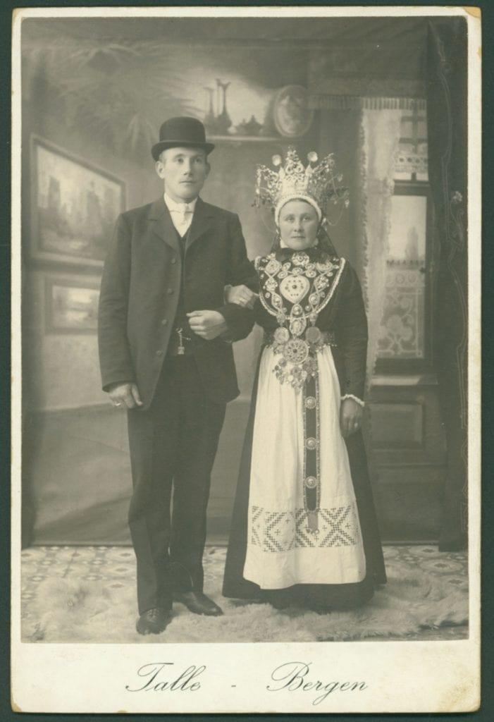 Håland/Lervåg Wedding Portrait