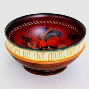 Telemark-style bowl © 2007 Karen Hankee Telemark-style bowl © 2007 Karen Hankee