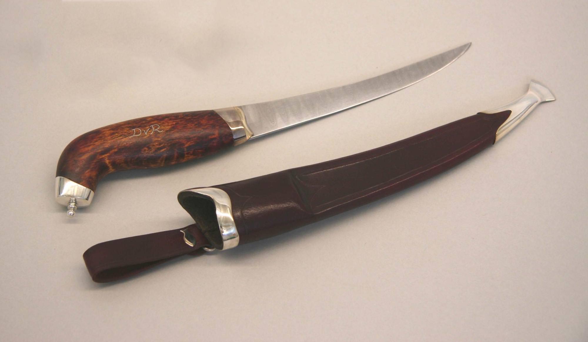 Silver fish-fillet knife © 2007 Spencer Ritzen Silver fish-fillet knife © 2007 Spencer Ritzen