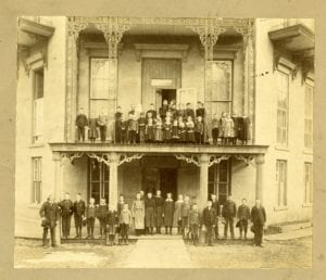 Group photo of Orphan's Home