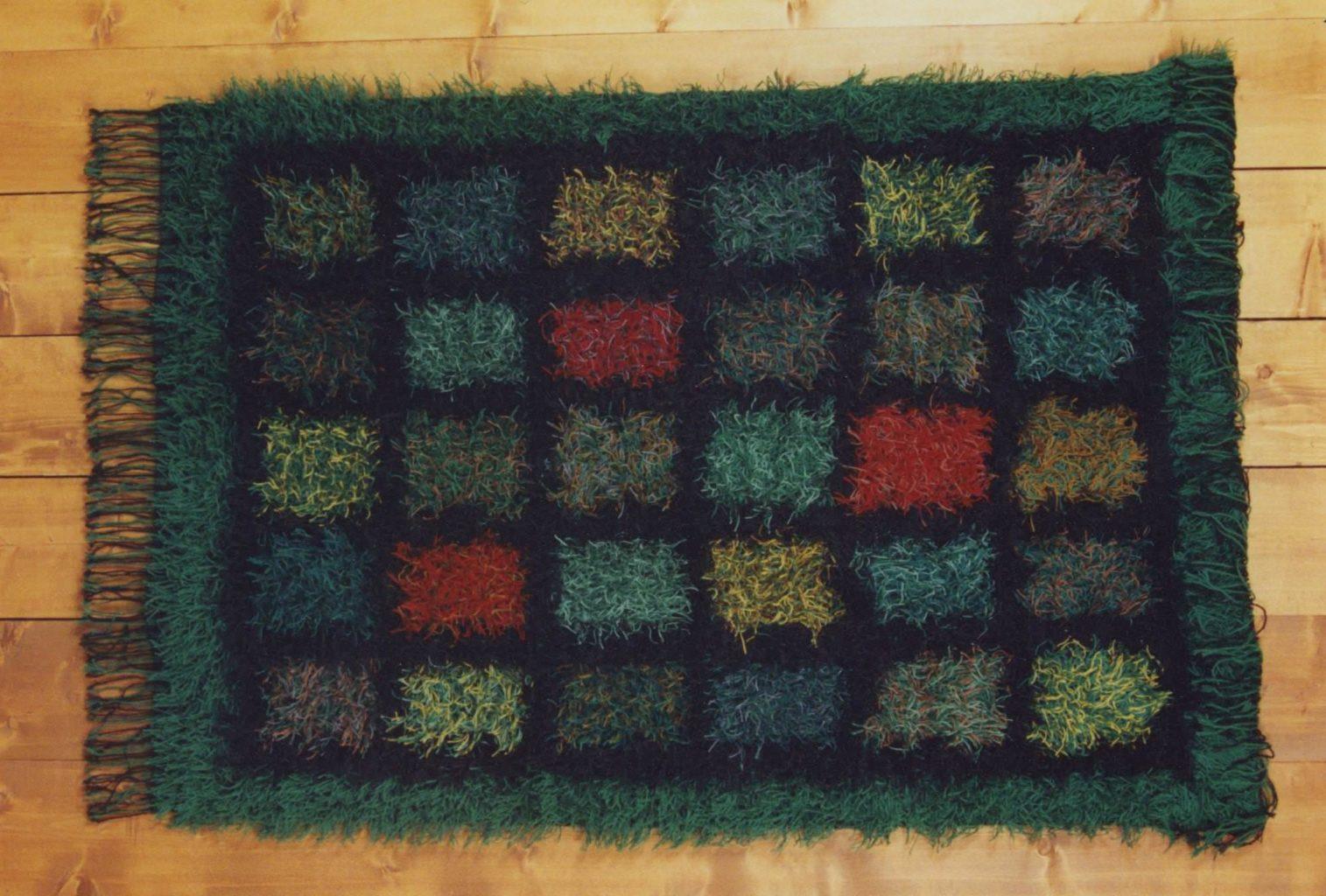 """""""Yukon Daughter"""" wall hanging © 1999 Laura Demuth """"Yukon Daughter"""" wall hanging © 1999 Laura Demuth"""