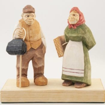"""Shopping Day"" carved figure © 2014 David Fowler ""Shopping Day"" carved figure © 2014 David Fowler"